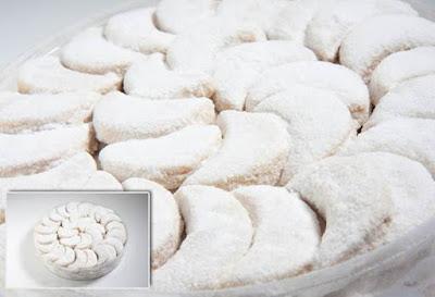 Resep Kue Kering Puteri Salju