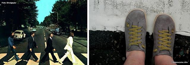 Faixa de pedestres imortalizada na capa do disco dos Beatles