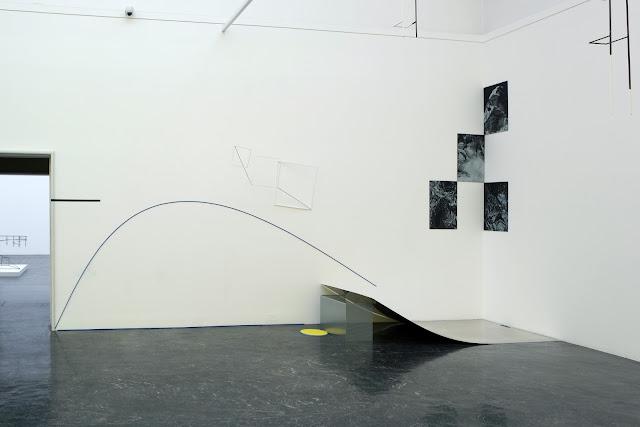 20170327 four drawings by my guest Ingeborg Annie Lindahl at Kunstnernes Hus