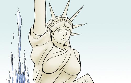 Kim Chi & Củ Cải (bộ mới) phần 341: Nữ thần tự do
