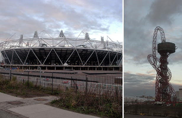 London 2012 Olympic Stadium and Orbit Tower