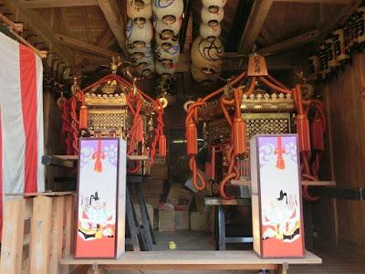 八坂大神の神輿