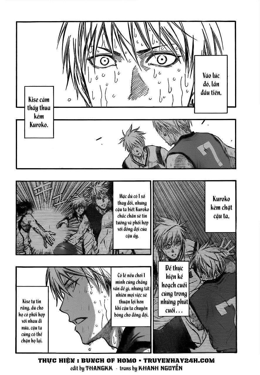 Kuroko No Basket chap 201 trang 2