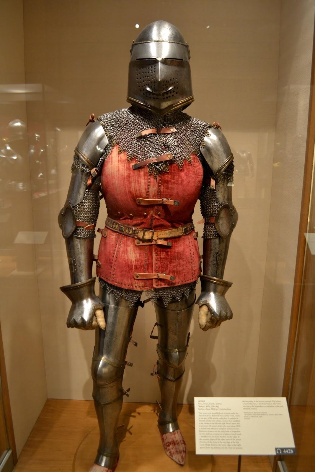 Рыцарские доспехи. Метрополитен-музей. Нью-Йорк, Нью-Йорк (The Metropolitan Museum of Art, NYC)