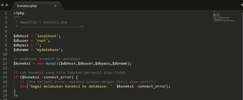 Cara Membuat Koneksi Ke Database Menggunakan Php Mysqli Root93 Co Id Computer Networking Web Programming