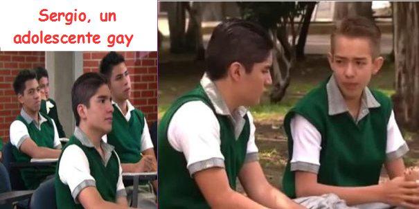 Sergio: Un adolescente gay