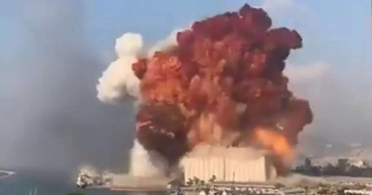 Footage Shows Huge Explosion Ripping Through Beirut With At Least 136 Killed, Thousands Injured And Dozens Missing As Death Toll Rises