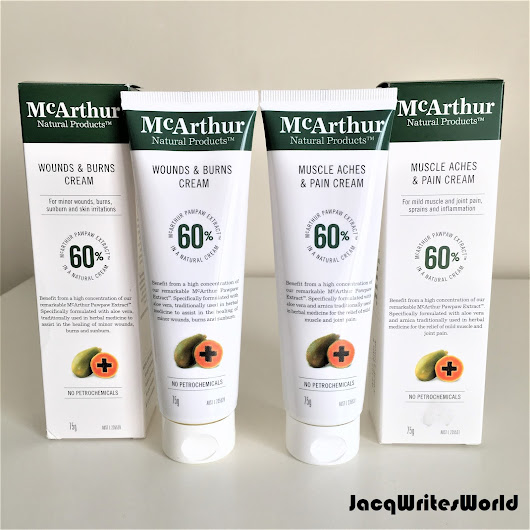 Get Healed by the Pawpaw with the McArthur Natural Products Therapeutic Range!!! 2/2