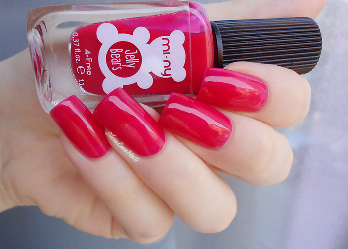 MI-NY Jelly 3 Dragon Fruit: swatches & review
