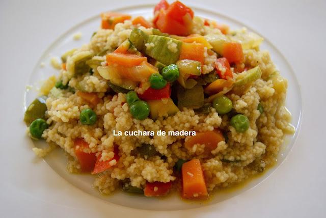 Cuscus Con Verduras