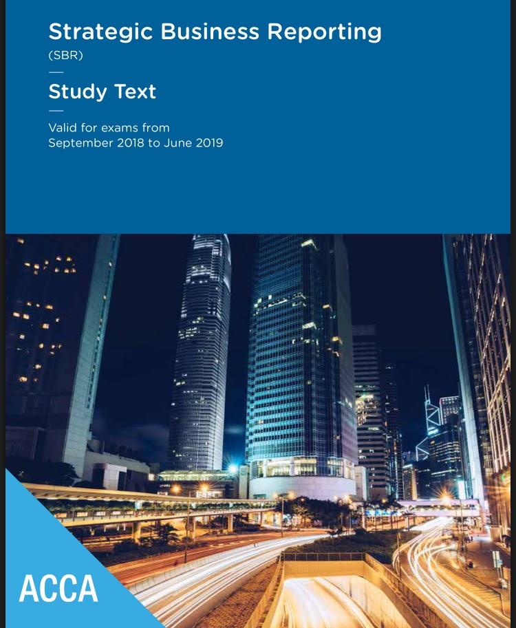 ACCA SBR BOOK 2019 - FREE ACCOUNTANCY STUDY MATERIALS