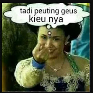 Gambar Lucu Gokil Terbaru Bahasa Sunda