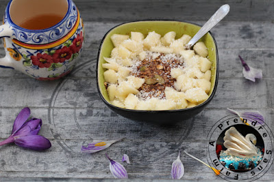 Flocons chauds poire coco