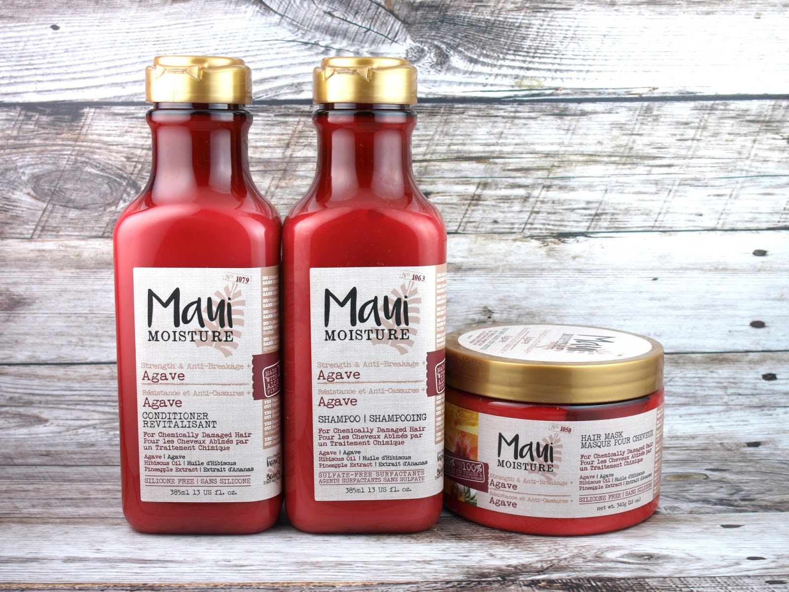 Maui Moisture Hair Care | Strength & Anti-Breakage Agave Collection: Review
