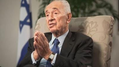 Presiden Israel Shimon Peres