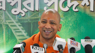 modi-face-will-defeat-left-in-tripura-yogi