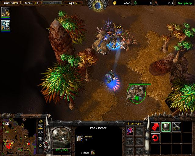 Pack Beast Screenshot    The Founding of Durotar   Warcraft 3: The Frozen Throne