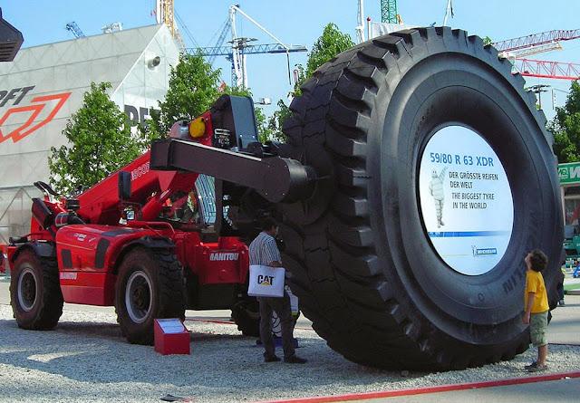 Maior pneu do mundo