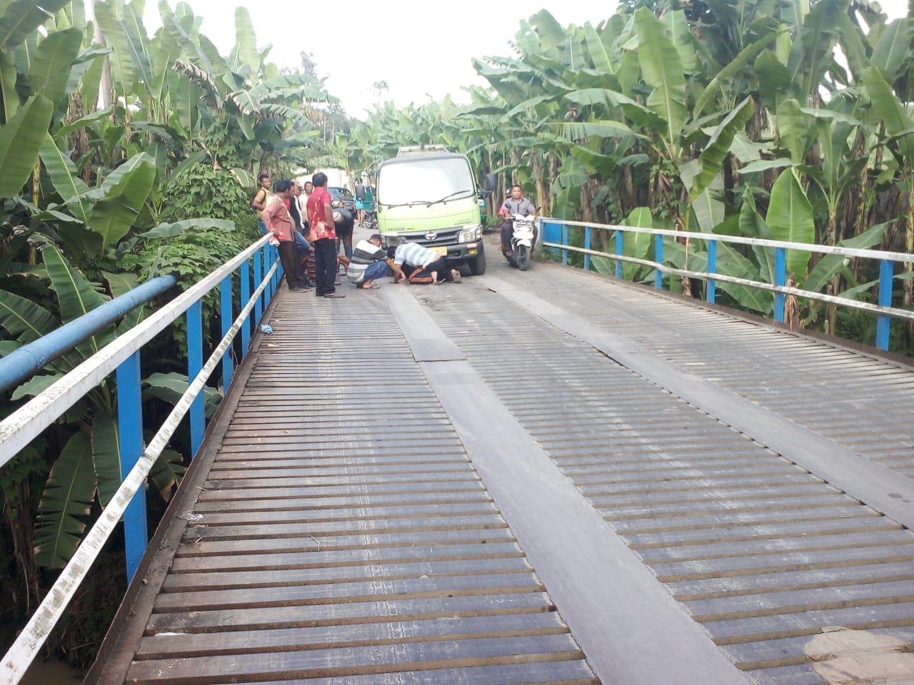 Jembatan Lau Burah Rusak Parah, Pemkab Deliserdang Tutup Mata