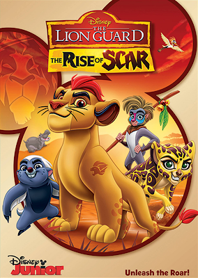 The Lion Guard The Rise Of Scar 2017 DVD R1 NTSC Latino
