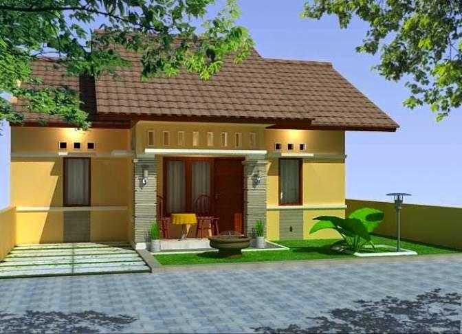 Desain Ide Gambar Rumah Memanjang Samping