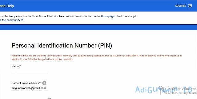 Panduan Lengkap Cara Verifikasi PIN Google Adsense Dengan KTP