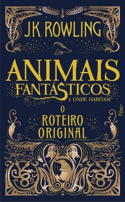 Capa Animais Fantásticos e Onde Habitam - Roteiro Original