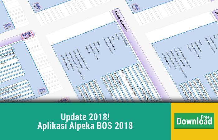 Aplikasi Alpeka BOS 2018