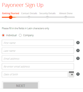payonerer sign up