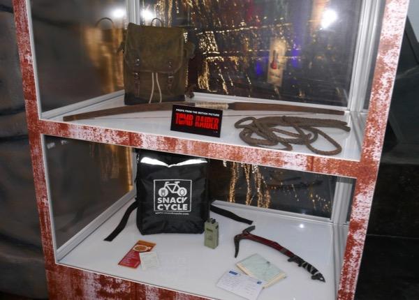 Tomb Raider film prop exhibit