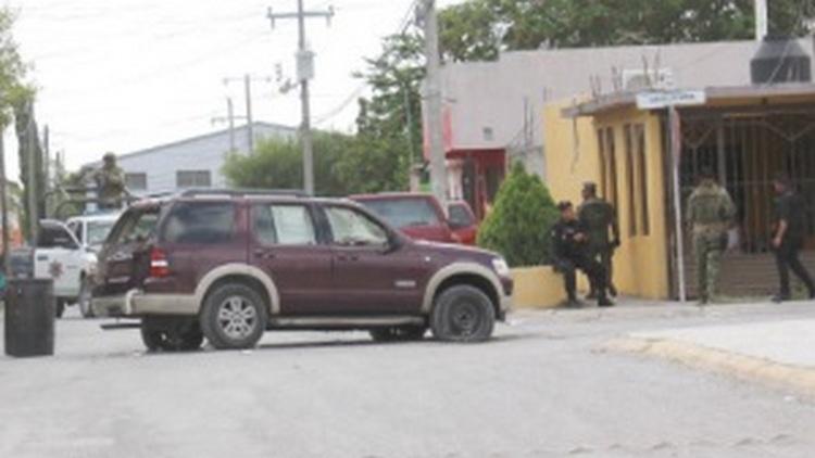Abandonan camioneta con más de 20 balazos en Reynosa Tamaulipas