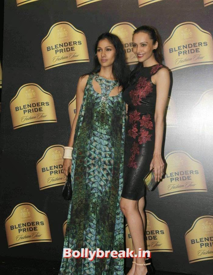 Nethra Raghuraman, Dipannita Sharma, Gavin Miguel Show at Blenders Pride Fashion Tour 2013
