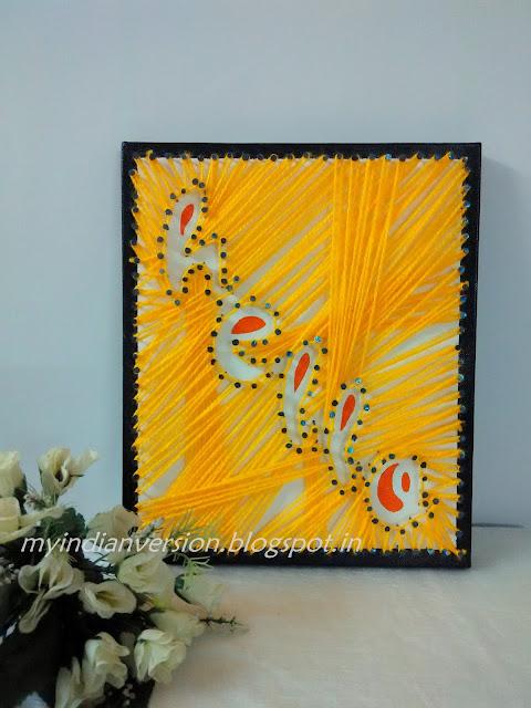 Canvas DIY  String Art