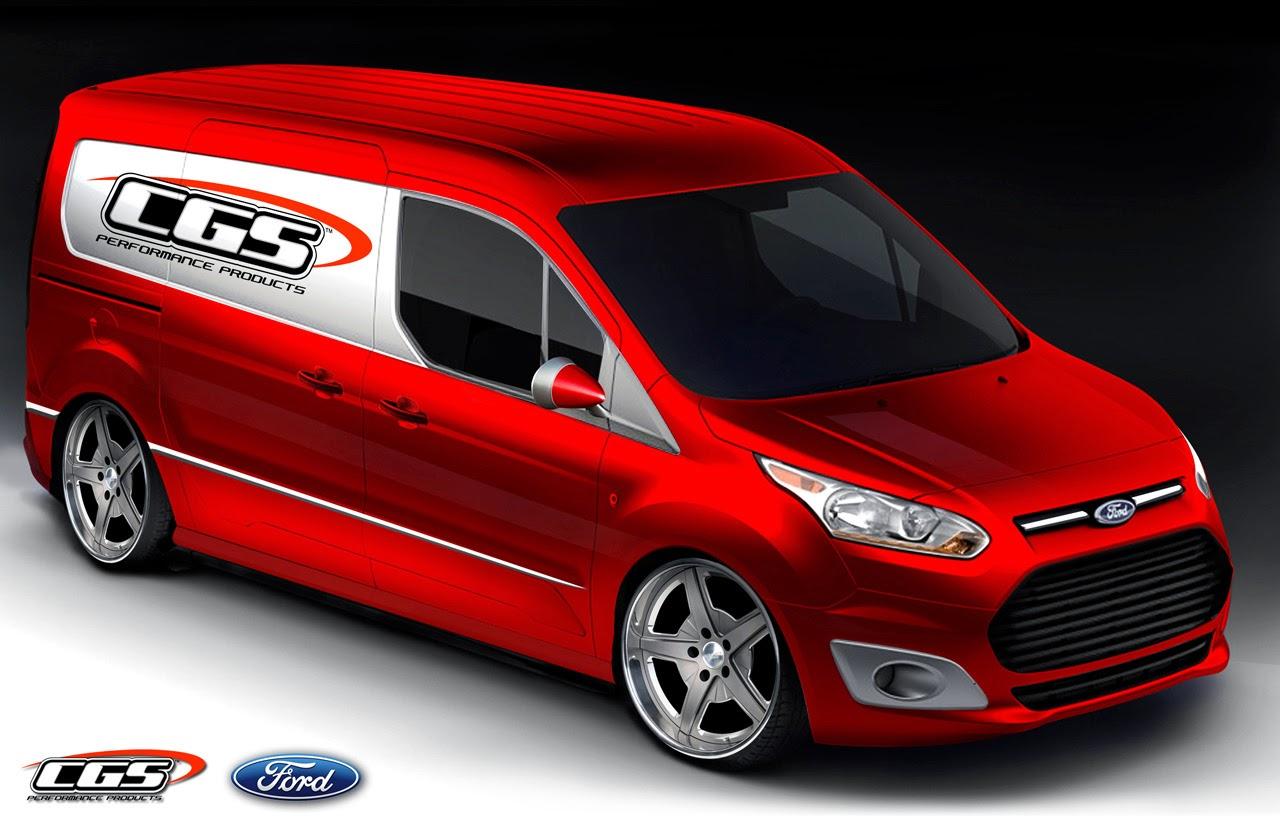169 Automotiveblogz 2014 Ford Transit Connect Sema Teasers