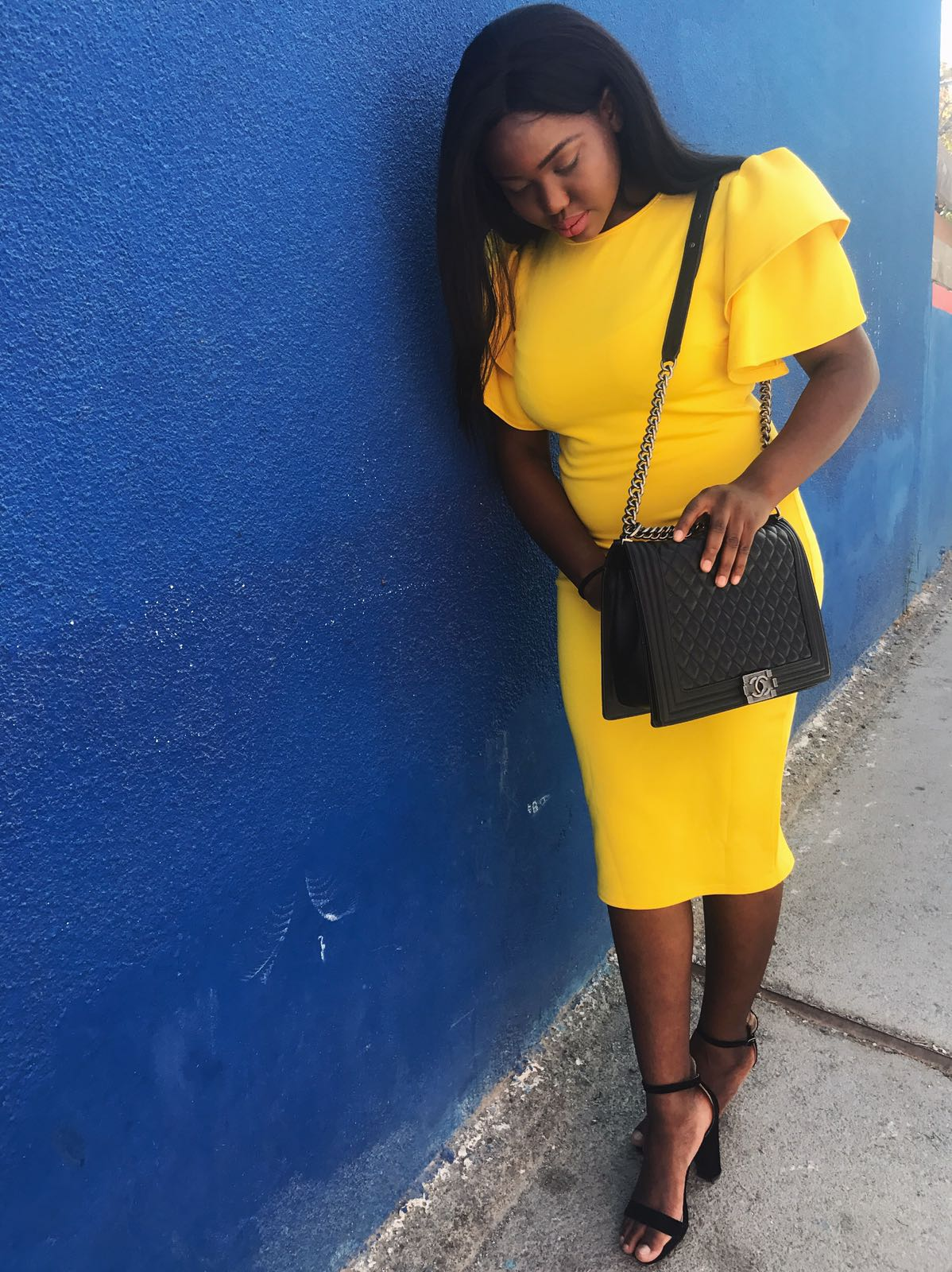 fashion mia yellow midi dress dateswithdanie