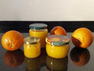 Mermelada saludable de naranja, jengibre y azafrán