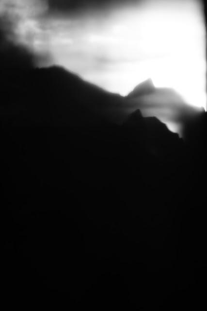 Tatry. Małe Ciche. Fotografia czarno-biała. Krajobraz. Fotografia odklejona. fot. Łukasz Cyrus