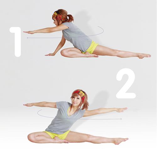 3 bài tập giảm mỡ bụng cho chị em trước khi ngủ