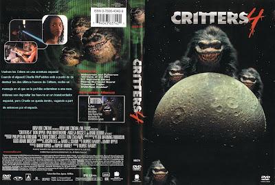 Caratula, cover, dvd: Critters 4 | 1992  | Ultima parte de la saga