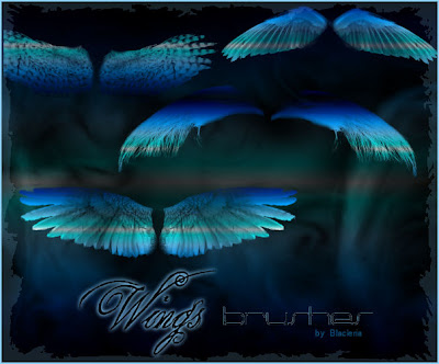 Gimp Wings Brushes