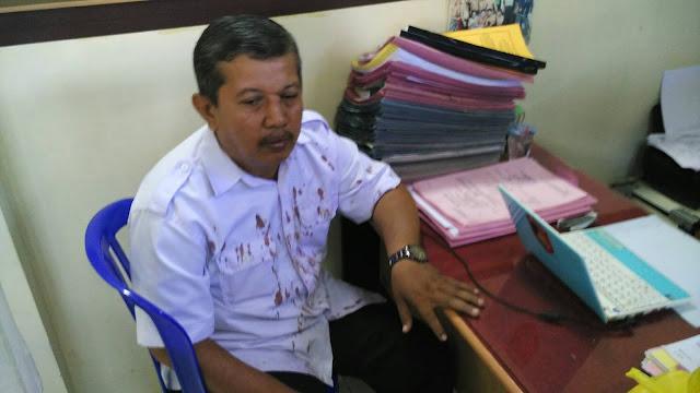 Ini Pengakuan Langsung Dasrul, Guru SMKN 2 Makassar yang Dihajar Orangtua Siswa