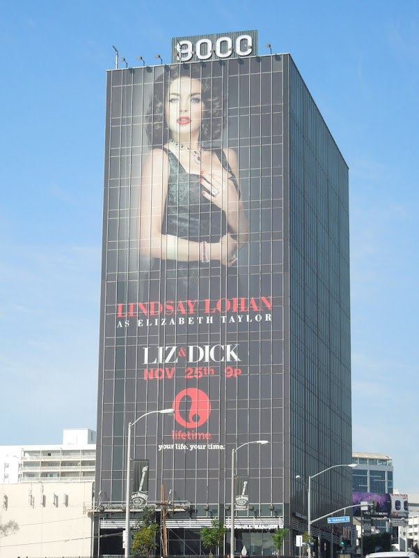 Giant Liz Dick Lifetime TV movie billboard
