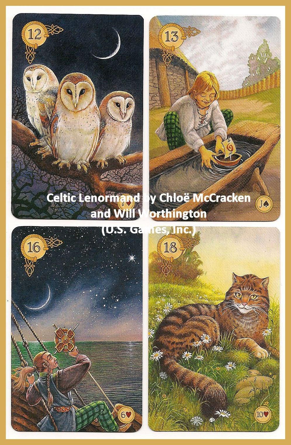 Tarot Notes A Journey Through My Tarot Decks The Magician: Tarot Notes: Review: Celtic Lenormand