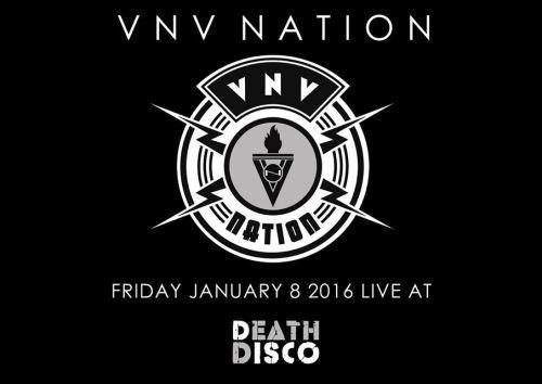 VNV NATION: Παρασκευή 8 Ιανουαρίου @ Death Disco