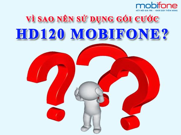Đăng ký gói HD120 Mobifone