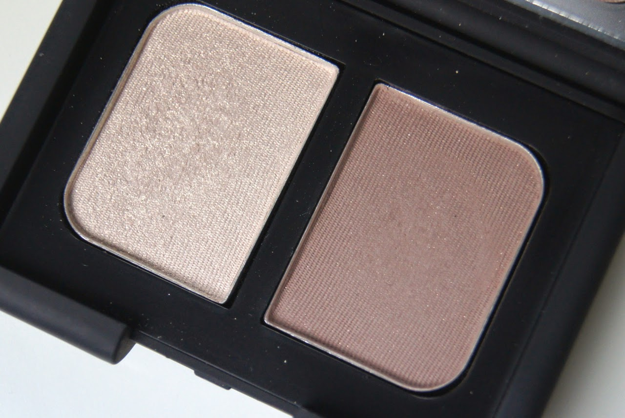 nars belissima eyeshadow duo swatches review
