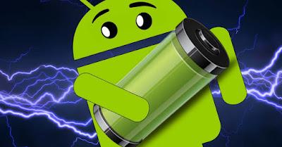 gambar robot hijau dengan baterai