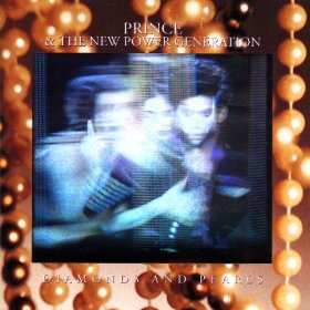 Album cover of Diamonds and Pearls by Prince and the New Power Generation.