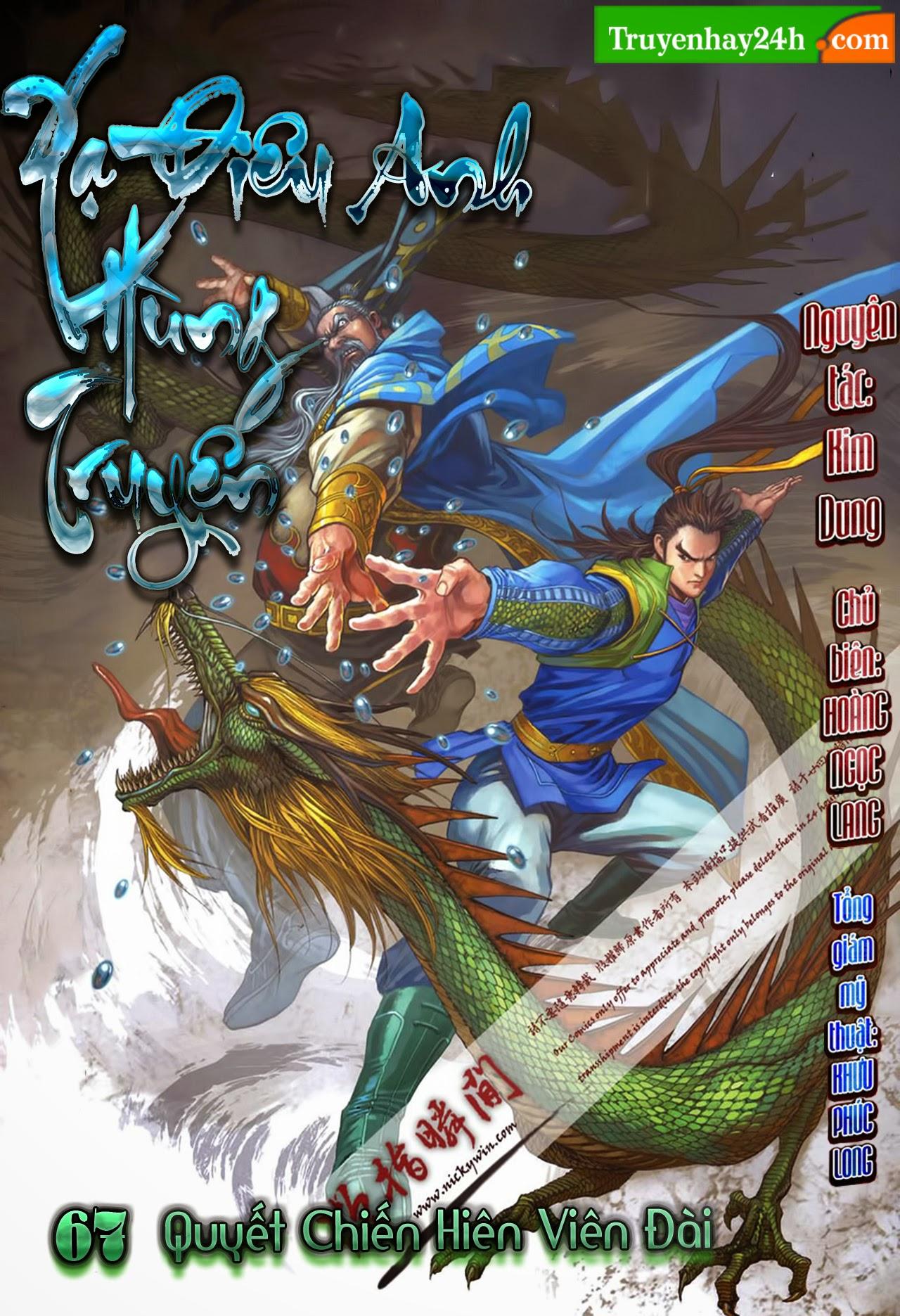 Anh Hùng Xạ Điêu anh hùng xạ đêu chap 67: quyết chiến hiên viên đài trang 1