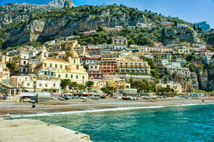 5. Positano - Top 10 Italian Coastal Sites